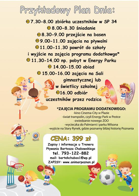 Rewelacyjny Animar Poznań - Animar Day Camp ZK74